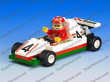LEGO 6546 Slick Racer Set Parts Inventory and Instructions - LEGO