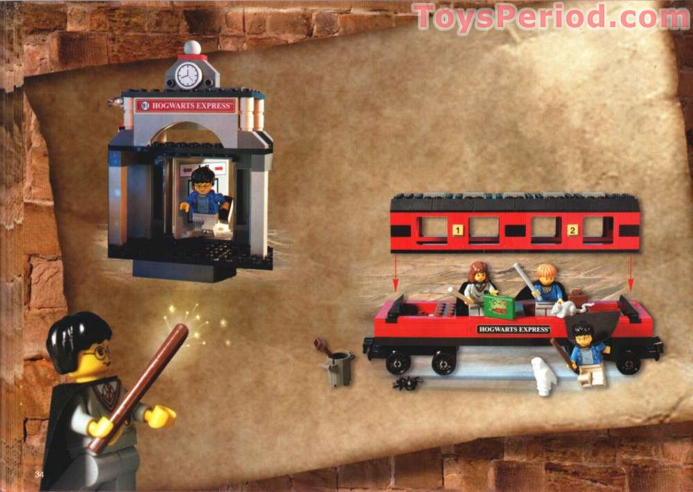 lego harry potter hogwarts express instructions