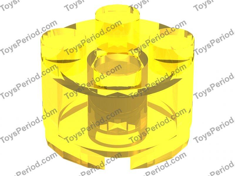 LEGO 3941-NUOVO 2x2 Yellow Round Brick con foro asse//10 pezzi per ordine