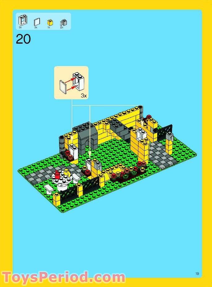 lego creator beach house instructions