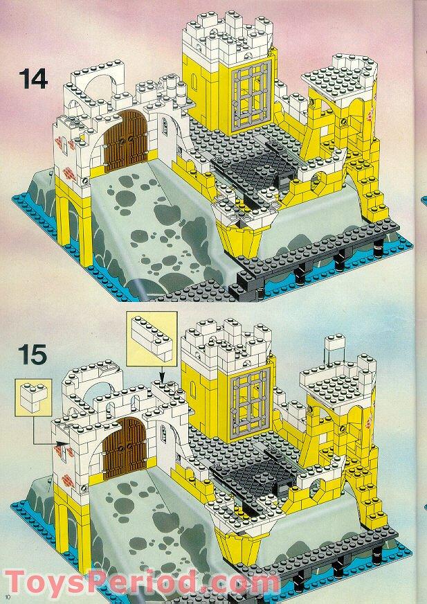 lego 6276 eldorado fortress set parts inventory and