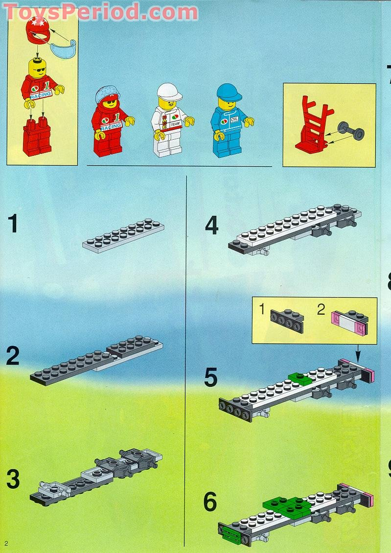 LEGO 6335 Indy Transport Set Parts Inventory and Instructions - LEGO