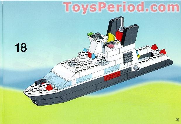 lego classic boat instructions