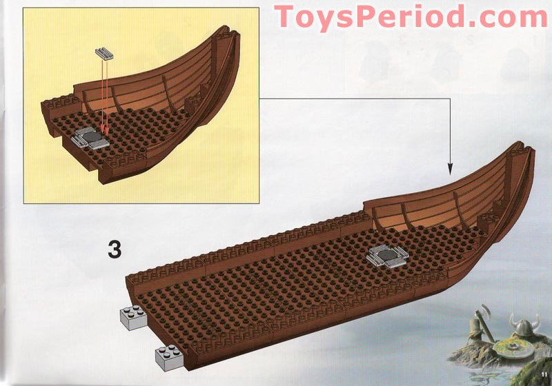 lego viking ship instructions