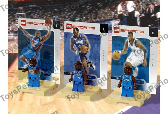 LEGO 3567 NBA Collectors Number 8 Set Parts Inventory and ...