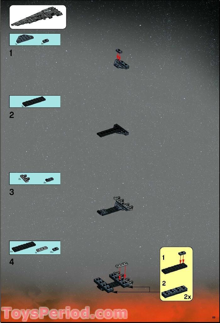 lego death star instructions 10143
