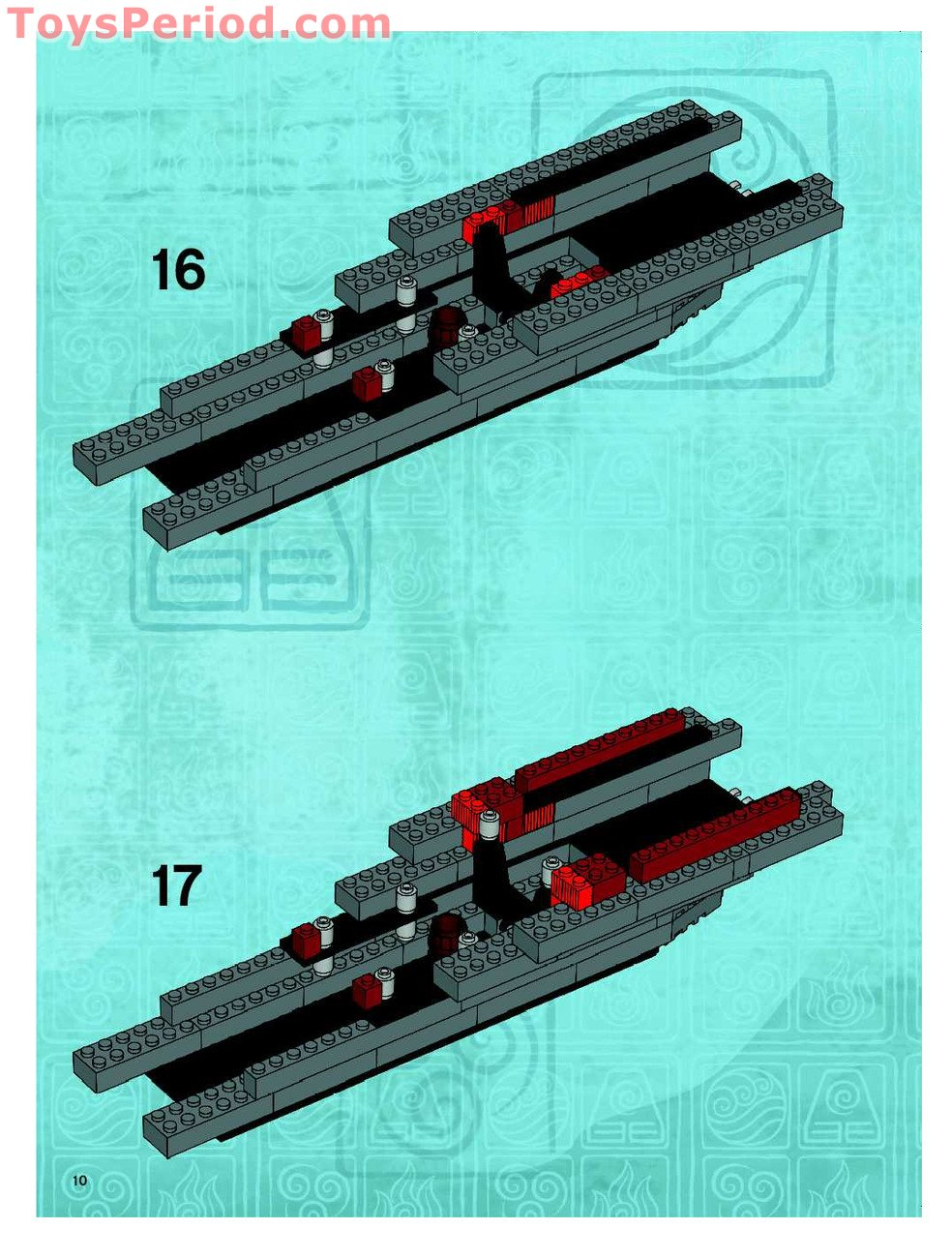 instructions for lego sets 70815 and 70818