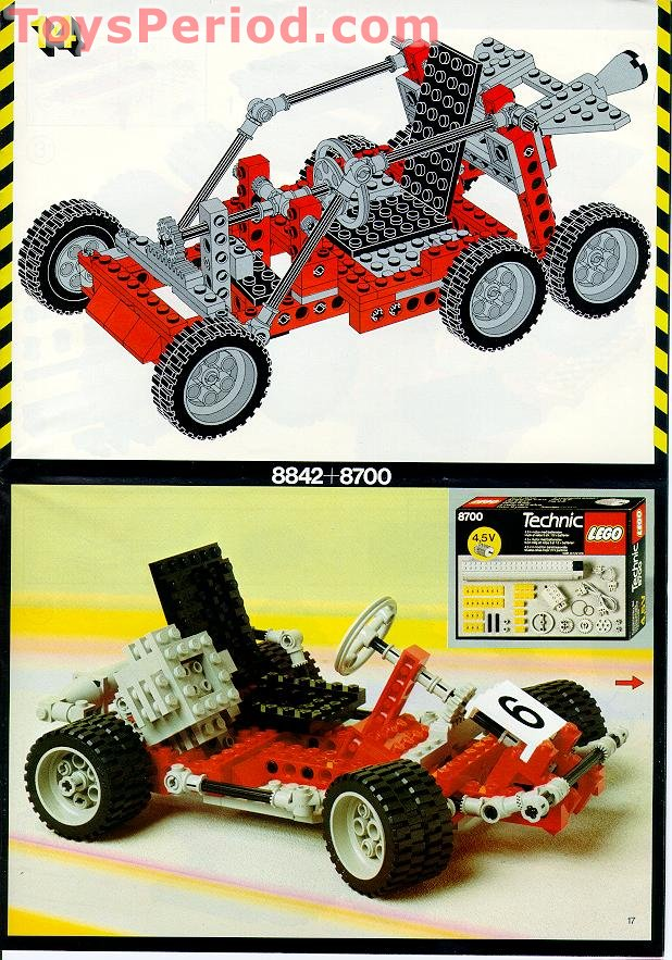 Lego 8842 Go Kart Set Parts Inventory And Instructions Lego