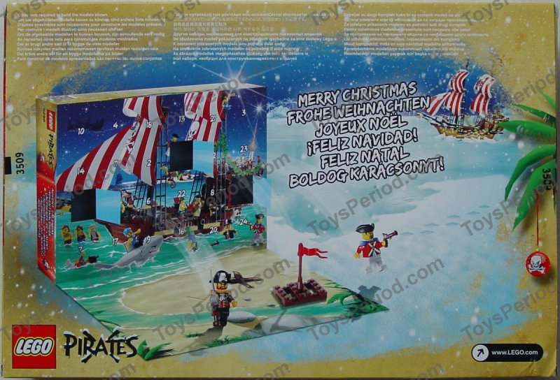 Lego 6299 1 Advent Calendar 2009 Pirates Image 4