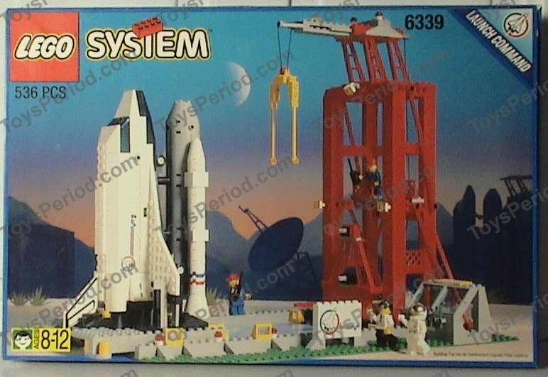 lego space shuttle launch pad 6339 - photo #1