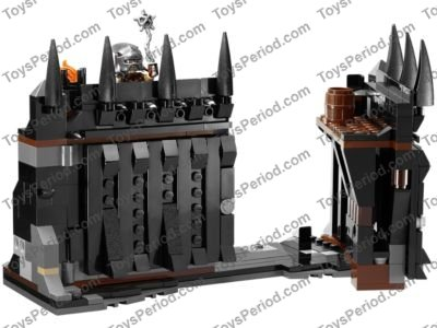 LEGOS One NEW Catapult 1 X 4 with Hole and Bucket Dark Brown LORD OF THE RINGS
