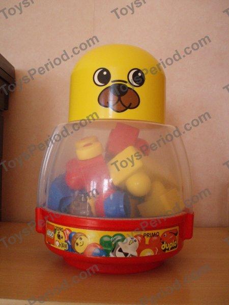 1996 2090 Duplo Baby Storage Bear - RETIRED // RARE ! LEGO DUPLO // PRIMO