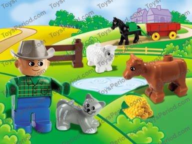 lego duplo farm instructions