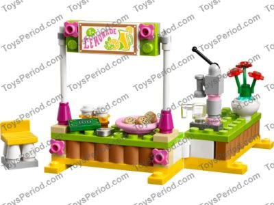 Lego 41027 Mias Lemonade Stand Set Parts Inventory And Instructions
