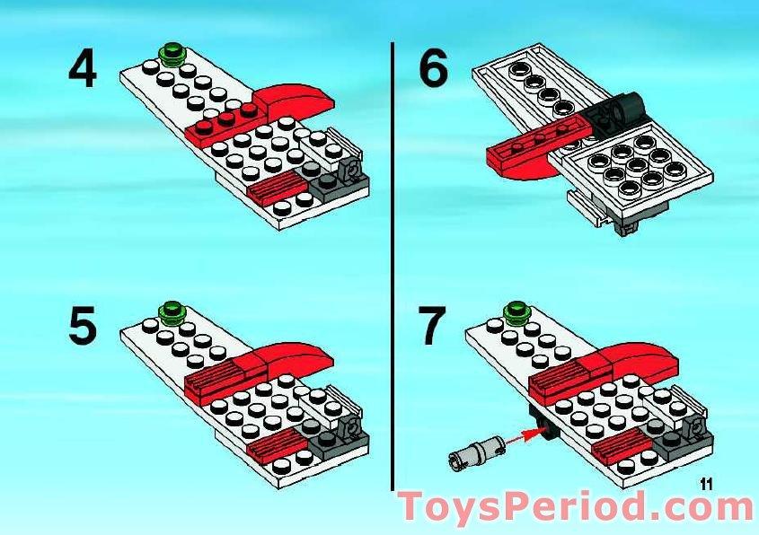lego city ambulance instructions