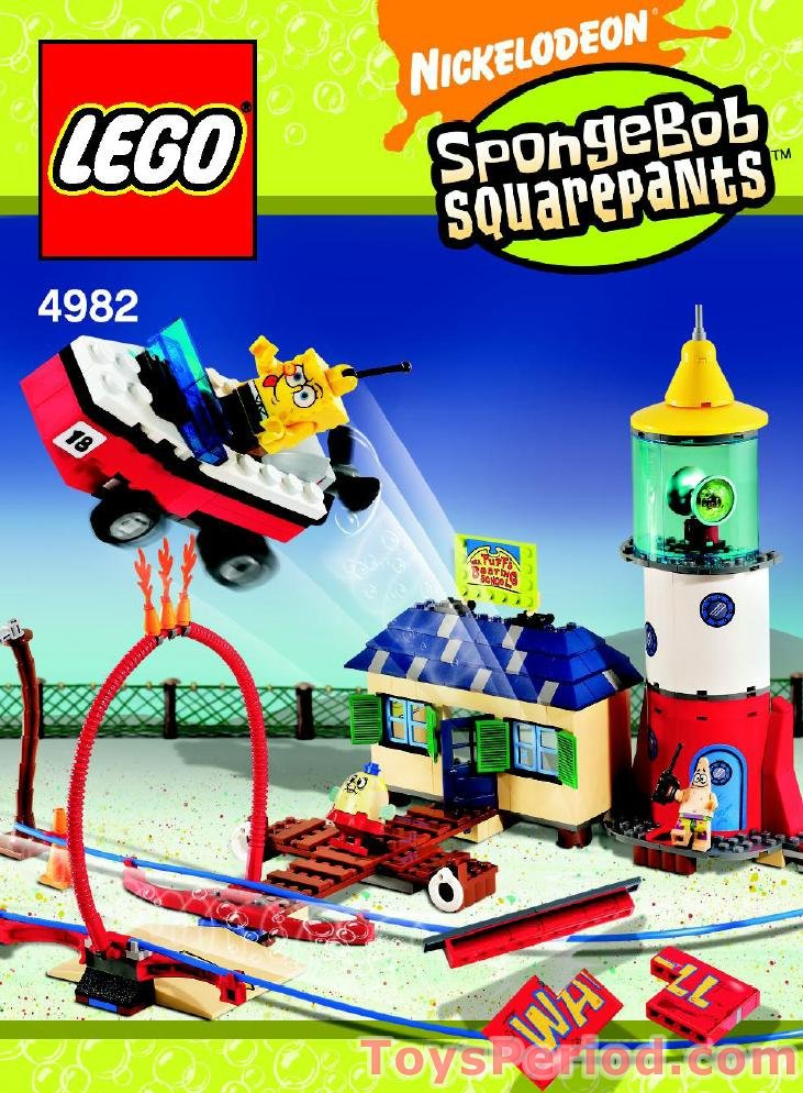 LEGO 4982 Mrs. Puff's Boating School Set Parts Inventory and ...