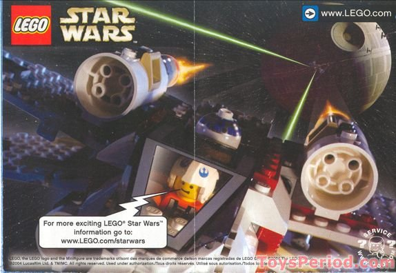 Lego 4494 Mini Imperial Shuttle Set Parts Inventory And Instructions