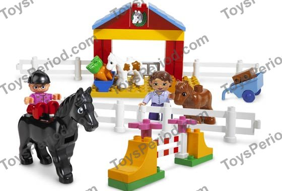 Lego 4690 Horse Stable Set Parts Inventory And