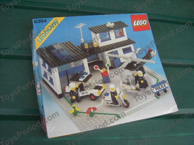 LEGO 6384 Police Station Set Parts Inventory and Instructions - LEGO ...