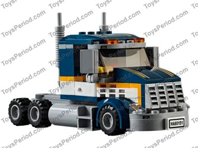 lego 60151 dragster transporter set parts inventory and