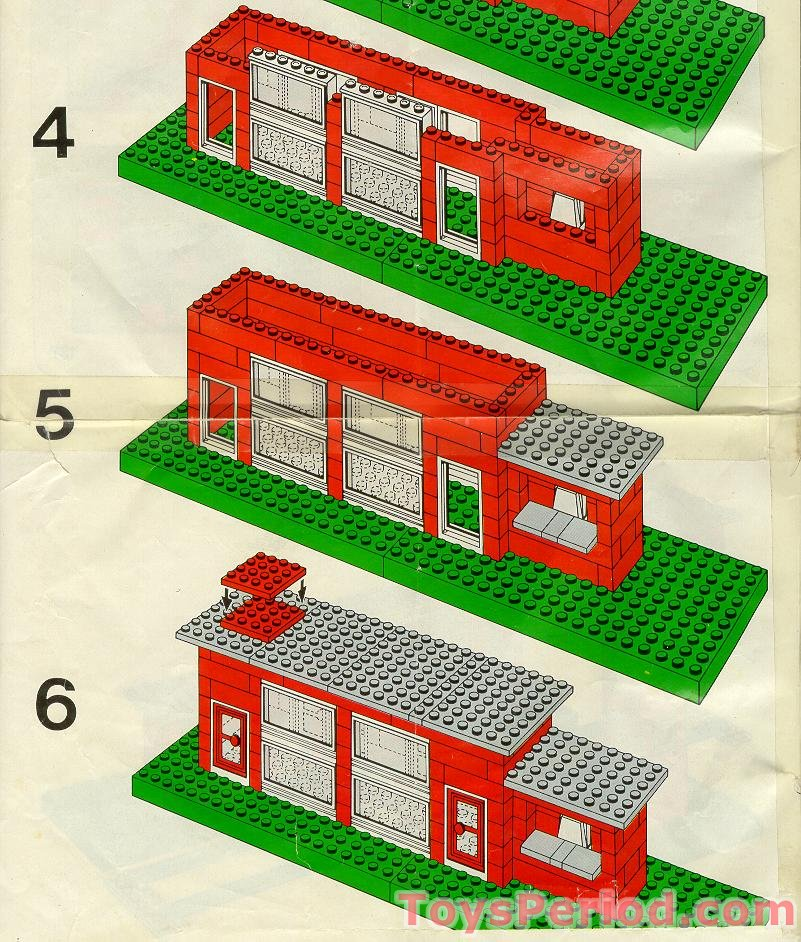 lego 148 central station set parts inventory and instructions lego reference guide. Black Bedroom Furniture Sets. Home Design Ideas