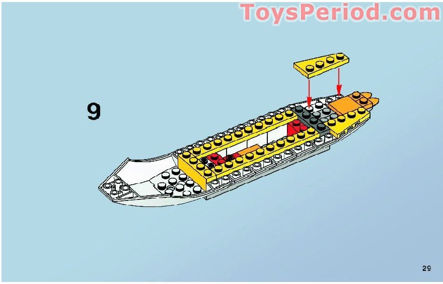lego penguin building instructions