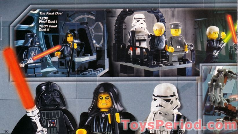 lego at st 7127 instructions