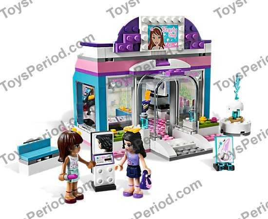 Lego 3187 Butterfly Beauty Shop Set Parts Inventory And Instructions