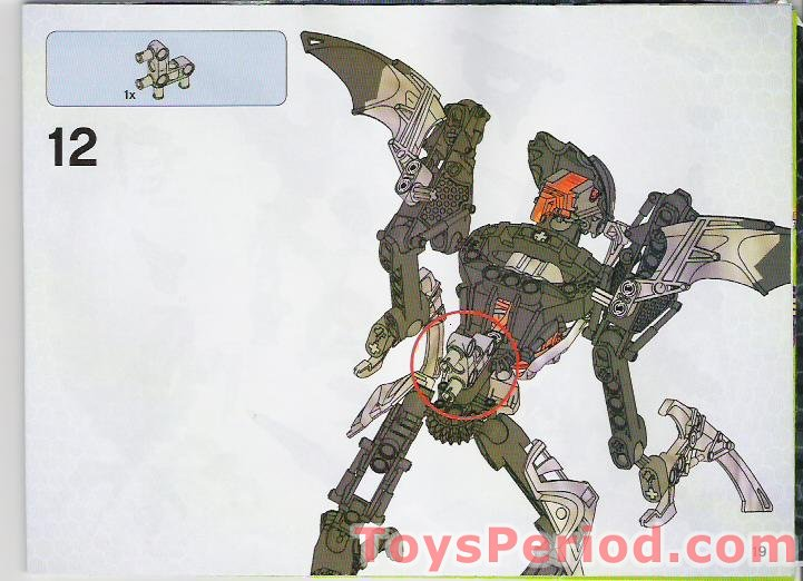lego bionicle combination instructions
