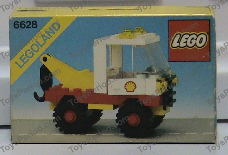 lego gas truck instructions