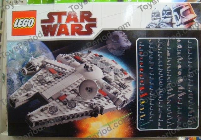 lego star wars instructions millenium falcon