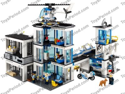 Lego 60141 Police Station Set Parts Inventory And Instructions