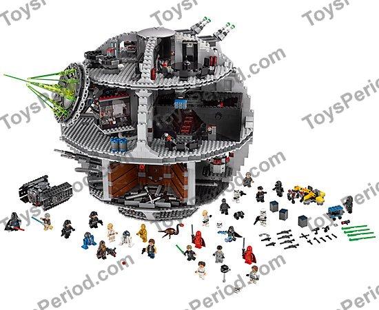 Imperial Astromech Droid Blue LEGO Star Wars MiniFigure Death Star Set 75159