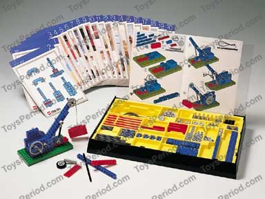 Lego 1030 Technic I Simple Machines Set Set Parts Inventory