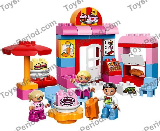 *NEW* 2 Pieces Lego DUPLO Utensil ORANGE TEAPOT COFFEEPOT 31041
