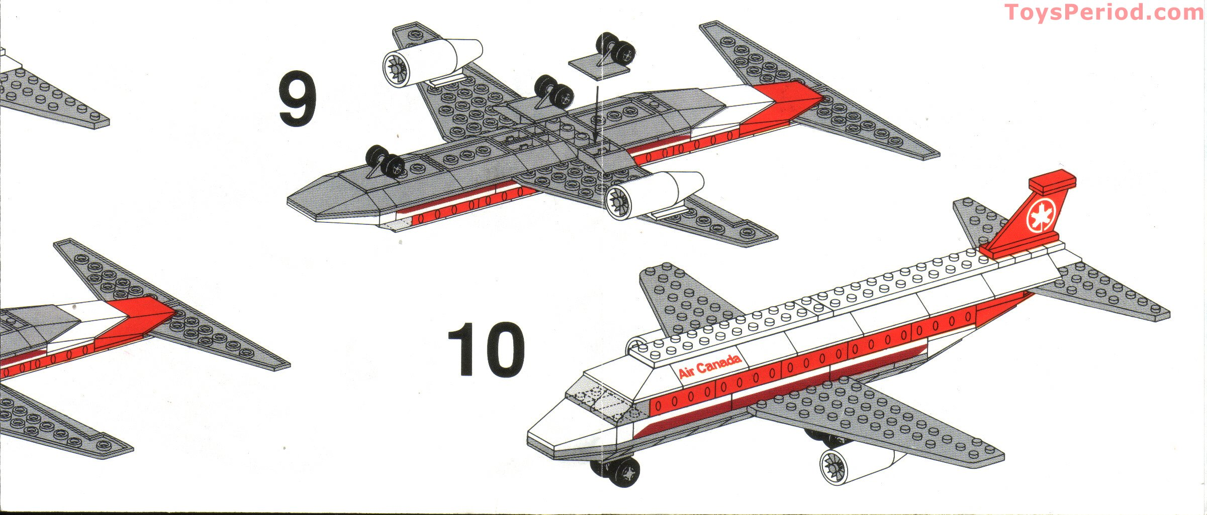 Heartlake private jet 41100 lego friends building instructions.