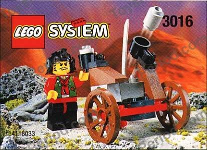 LEGO 3016 Ninja Blaster Set Parts Inventory and Instructions ...