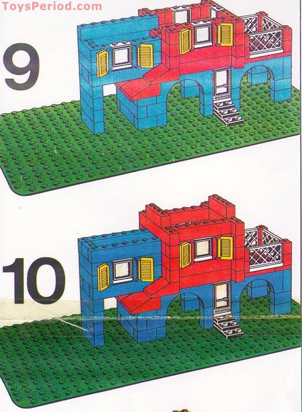 Lego 356 1 Swiss Villa Set Parts Inventory And Instructions Lego