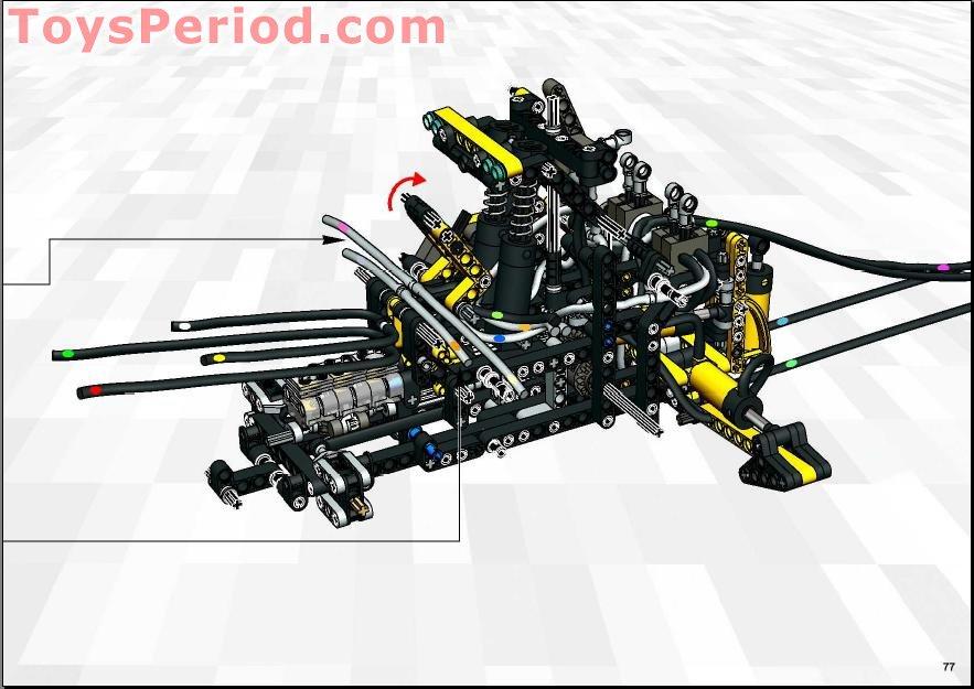 Lego Technic 8455 Building Instructions