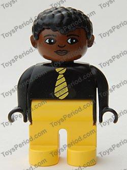 Lego Sets With Minifigure 4555pb224 Duplo Figure Male Yellow