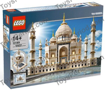 Lego 10189 Taj Mahal Set Parts Inventory And Instructions Lego