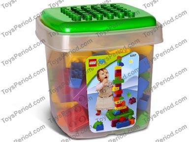 LEGO 5357 Large Quatro Bucket - 75 Extra Large Bricks