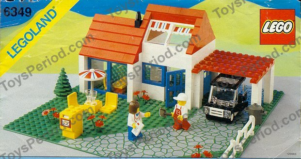 Lego 6349 Vacation House Set Parts Inventory And