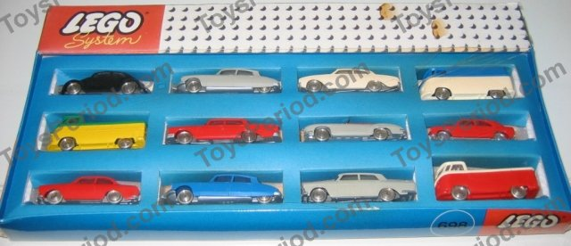 Lego 698 2 Twelve Ho Scale Cars Set Parts Inventory And