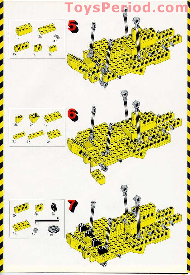 lego juniors fire suitcase instructions