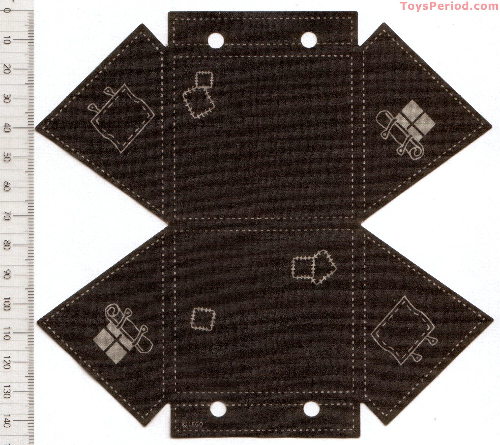 Cloth Tent Black LEGO 5978 Adventurers