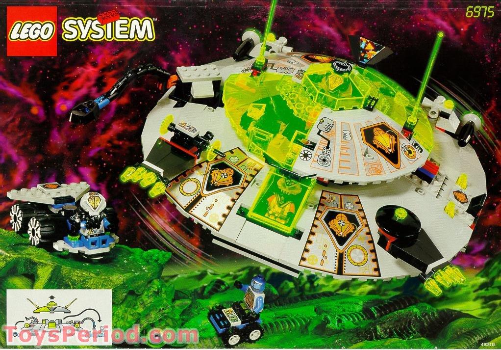 Lego 6975 Alien Avenger Set Parts Inventory And Instructions Lego