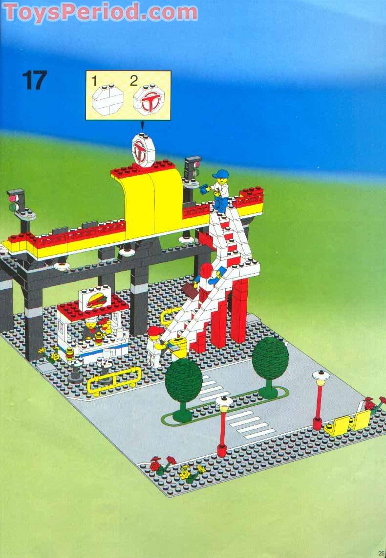 lego airport set instructions