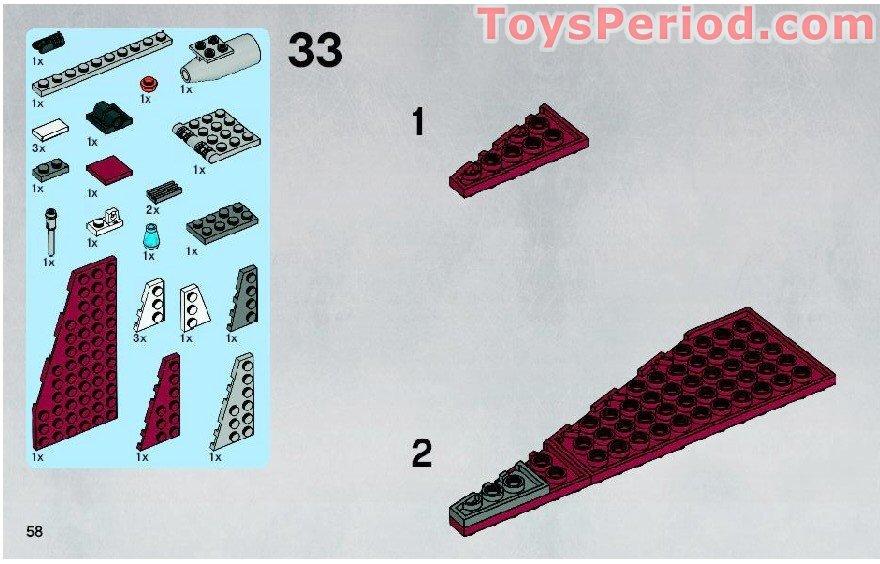 lego vulture droid instructions 7751