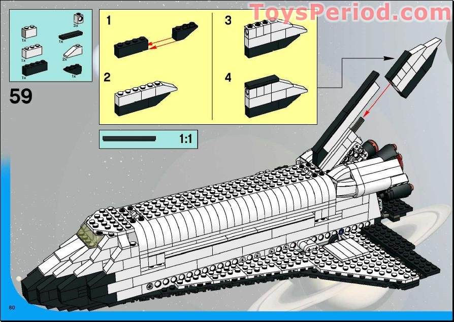 lego space shuttle parts list - photo #16